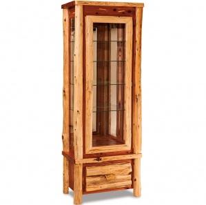 Elkhorn Amish Curio Cabinet