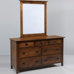 Calmont Amish Dresser with Mirror Option