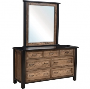 Brookstone Amish Dresser with Mirror Option