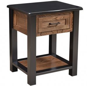 Brookstone Amish Nightstand with Shelf