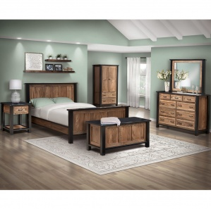 Brookstone Amish Bedroom Furniture Set