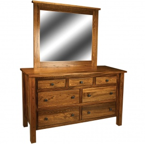 Birchman Amish Dresser with Mirror Option