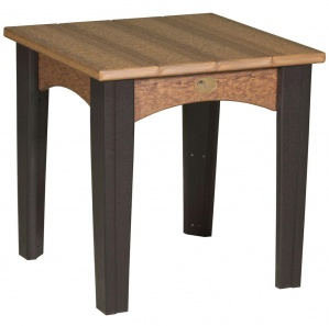 Island Outdoor Amish End Table
