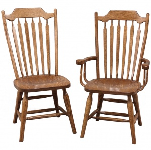 Plum Creek Amish Dining Chairs