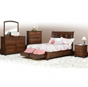 Stanton Amish Bedroom Furniture Set