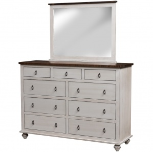Cottage Grove Amish Dresser with Mirror Option