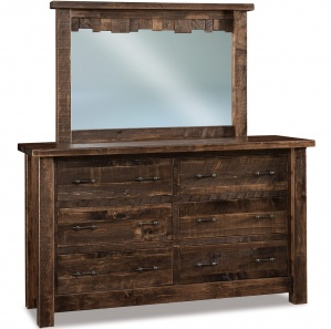 Vandella Amish Dresser with Mirror Option