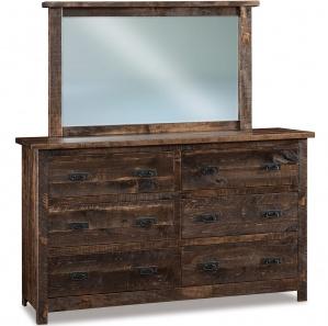 Dumont Amish Dresser with Mirror Option