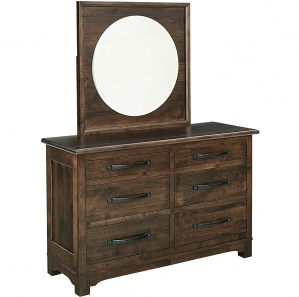 Fontana Amish Dresser with Mirror Option
