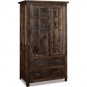 Ironwood Amish Armoire