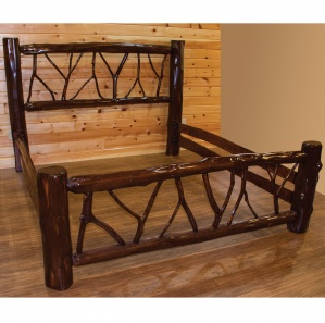 Adirondack Rustic Amish Bed