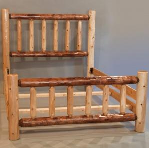 White Cedar Amish Bed