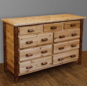 White Cedar Amish Dresser
