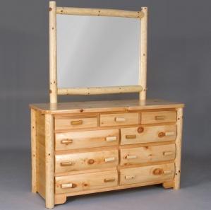 Cedar Grove Amish Dresser with Mirror Option