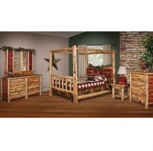 Red Cedar Amish Bedroom Furniture Set
