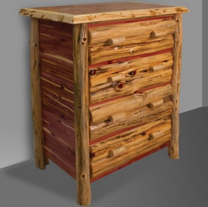 Red Cedar Amish Chest of Drawers