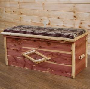 Red Cedar Amish Blanket Chest