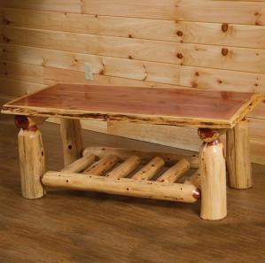 Red Cedar Amish Coffee Table