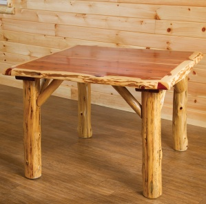 Red Cedar Amish Table