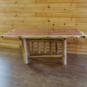 Red Cedar Amish Trestle Table