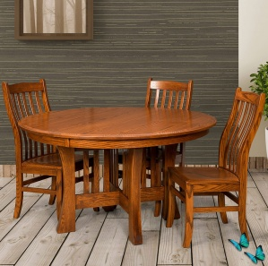 Grove Park Amish Dining Room Set