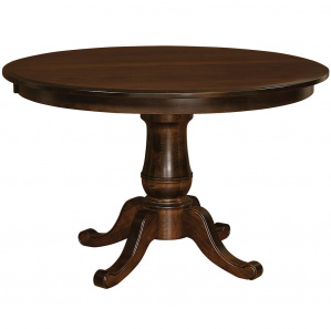 Chancellor Pedestal Amish Dining Table