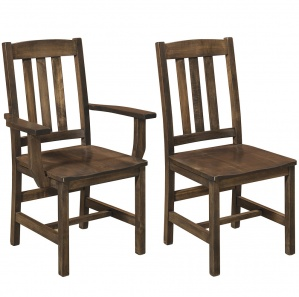 Lodge Amish Dining Chairs