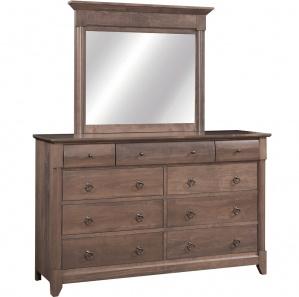 Sanibel Amish Dresser with Mirror Option