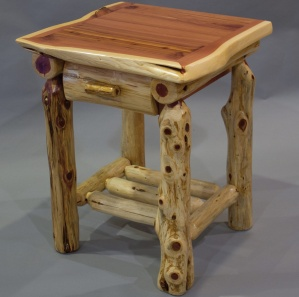 Red Cedar Amish Nightstand