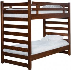 Ladder Loft Amish Bunk Bed