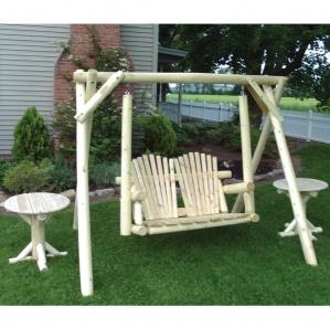 White Cedar Amish Porch Swing