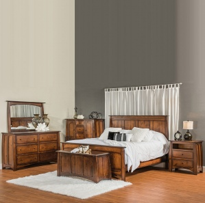 Boulder Creek King Size Amish Bedroom Set