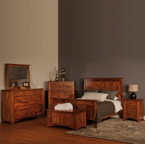 Boulder Creek Queen Size Amish Bedroom Set