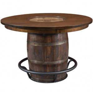 Clermont Single Barrel Amish Pub Table