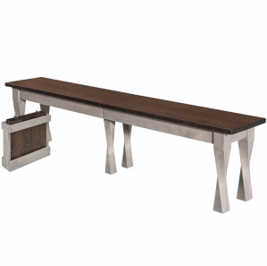 Aviance Amish Bench