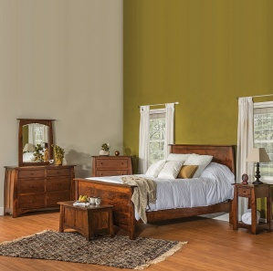Boulder Creek Condo Sized Amish Bedroom Set