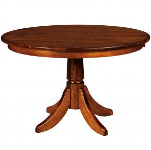 Baytown Pedestal Amish Dining Table