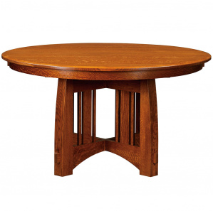 Mackinaw Round Amish Dining Table