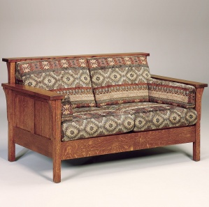 Rutherford Panel Amish Loveseat