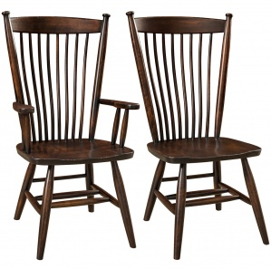 Easton Shaker Amish Dining Chairs