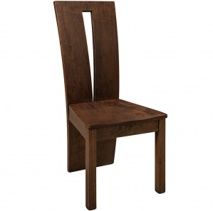 Delphi Contemporary Amish Side Chair