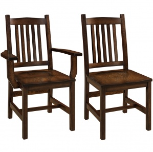 Logan Amish Dining Chairs