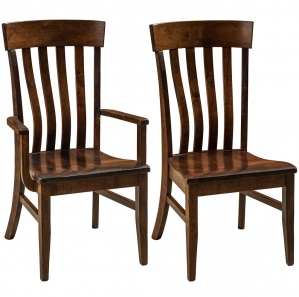 Palomar Farmhouse Amish Dining Chairs & Bar Chairs