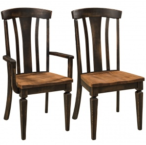 Westcott High Back Amish Dining Chairs