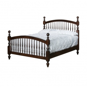 Bow Spindle Bed