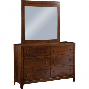 Lago Amish Dresser with Mirror Option