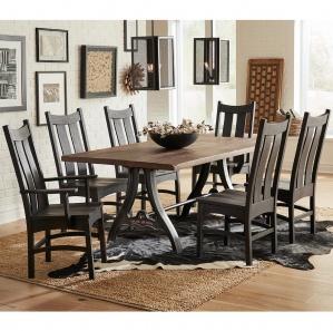 Iron Forge Amish Dining Room Set