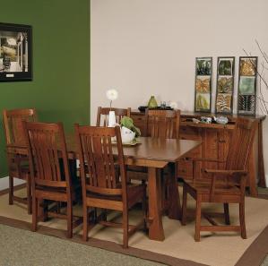Granger Park Amish Dining Room Set