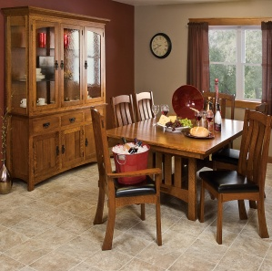 Del Mar Amish Dining Room Set