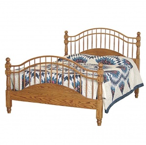 Double Bow Amish Bed